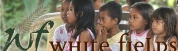 White Fields logo